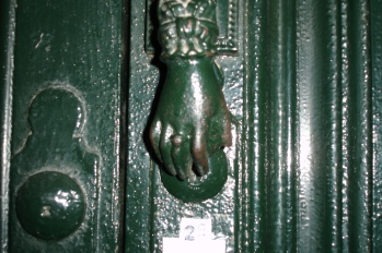 Sevilla Door Handle-Notice the Ring