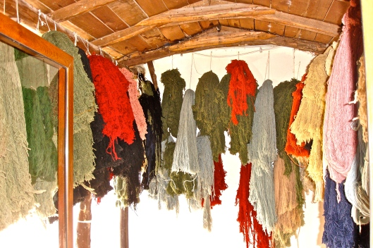 Silk at Turkish Carpet Factory